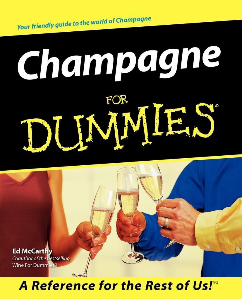 Champagne for Dummies als Taschenbuch