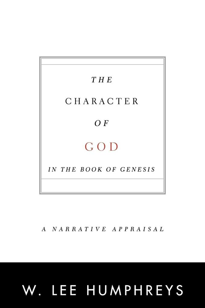 Character of God in the Book of Genesis als Buch