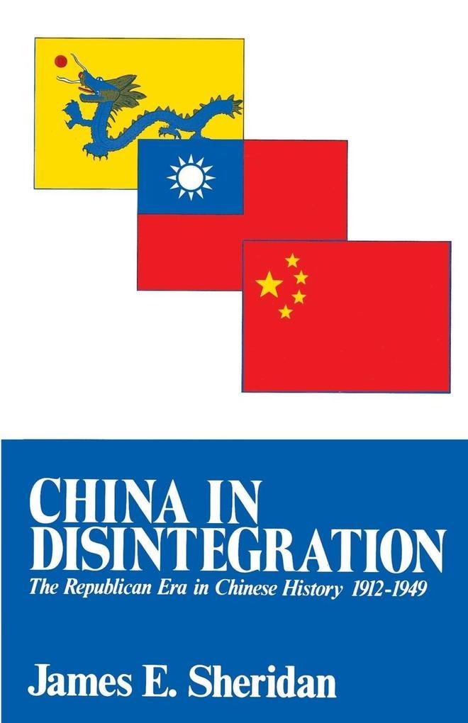 China in Disintegration als Taschenbuch