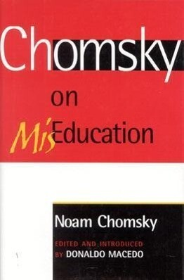 Chomsky on MisEducation als Buch