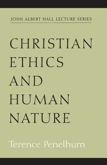 Christian Ethics and Human Nature als Taschenbuch
