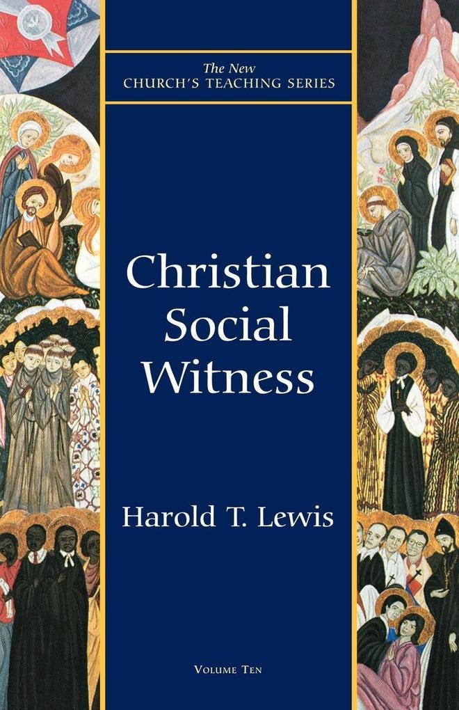 Christian Social Witness als Taschenbuch