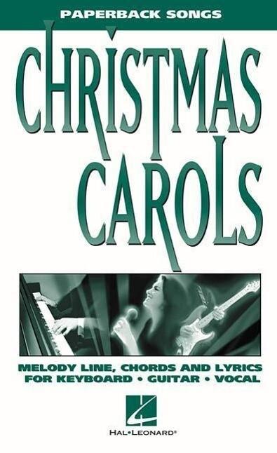 Christmas Carols - Paperback Songs als Taschenbuch
