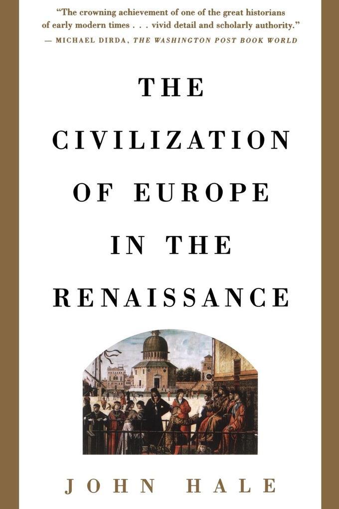 Civilization of Europe in the Renaissance als Taschenbuch