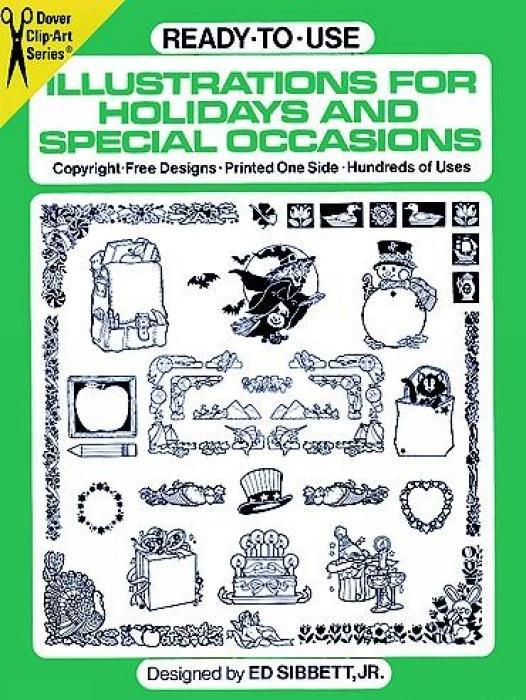 Ready-to-Use Illustrations for Holidays and Special Occasions als Taschenbuch