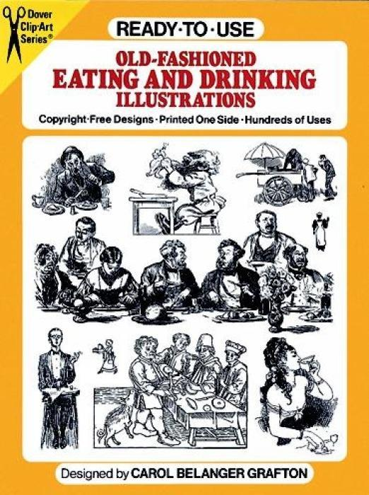 Ready-To-Use Old-Fashioned Eating and Drinking Illustrations als Taschenbuch