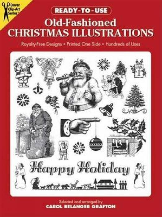 Ready-To-Use Old-Fashioned Christmas Illustrations als Taschenbuch