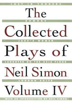 The Collected Plays of Neil Simon Vol IV als Taschenbuch