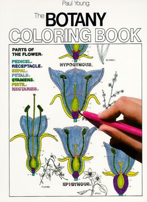 Botany Coloring Book als Taschenbuch