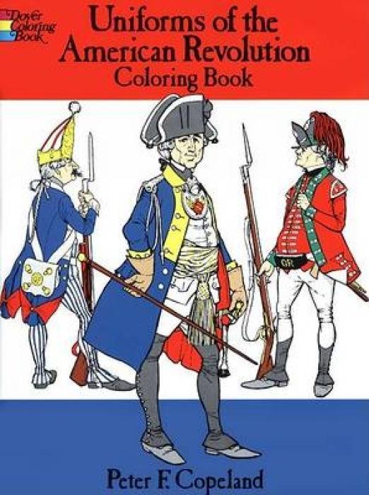 Uniforms of the American Revolution Coloring Book als Taschenbuch