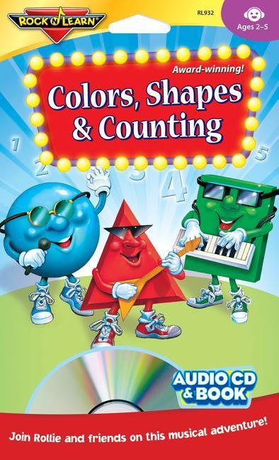 Colors, Shapes & Counting [With Book(s)] als Hörbuch