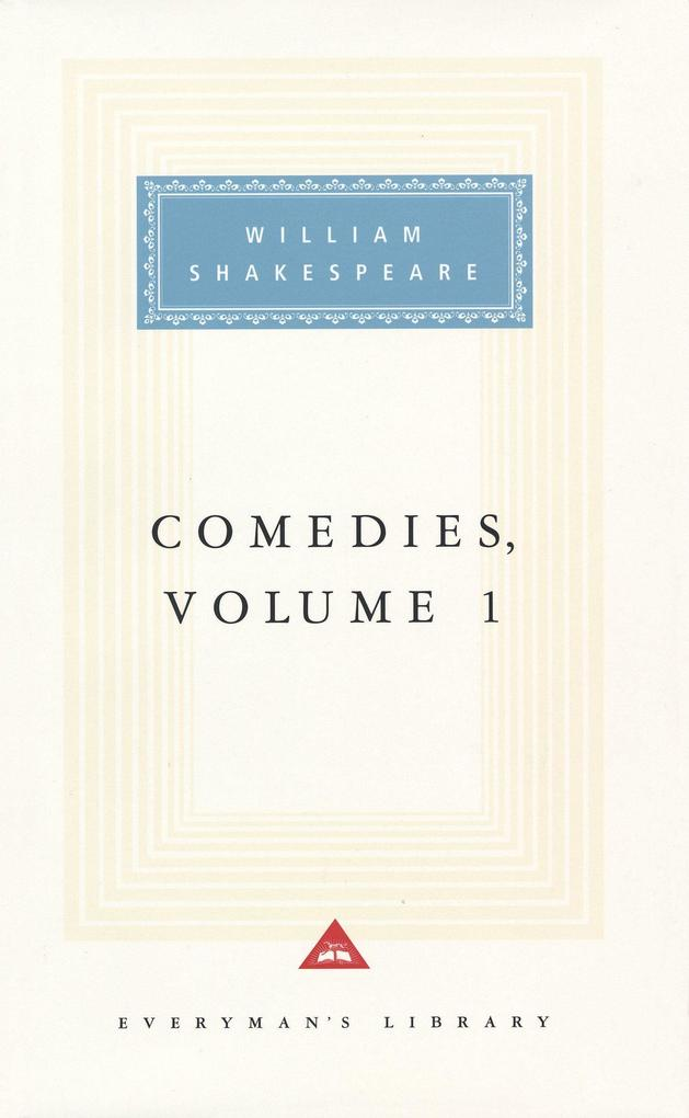 Comedies, Vol. 1: Volume 1 als Buch