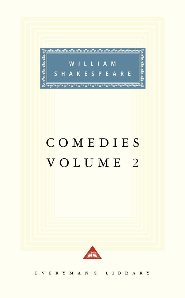 Comedies, Vol. 2: Volume 2 als Buch