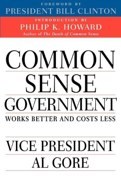 Common Sense Government als Taschenbuch