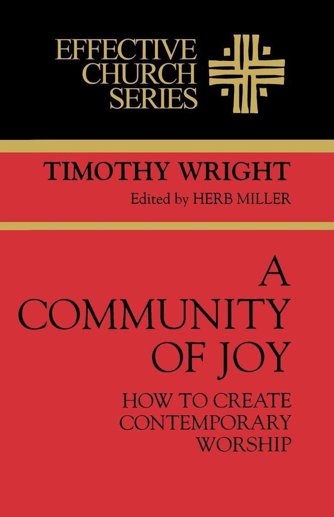 A Community of Joy als Taschenbuch
