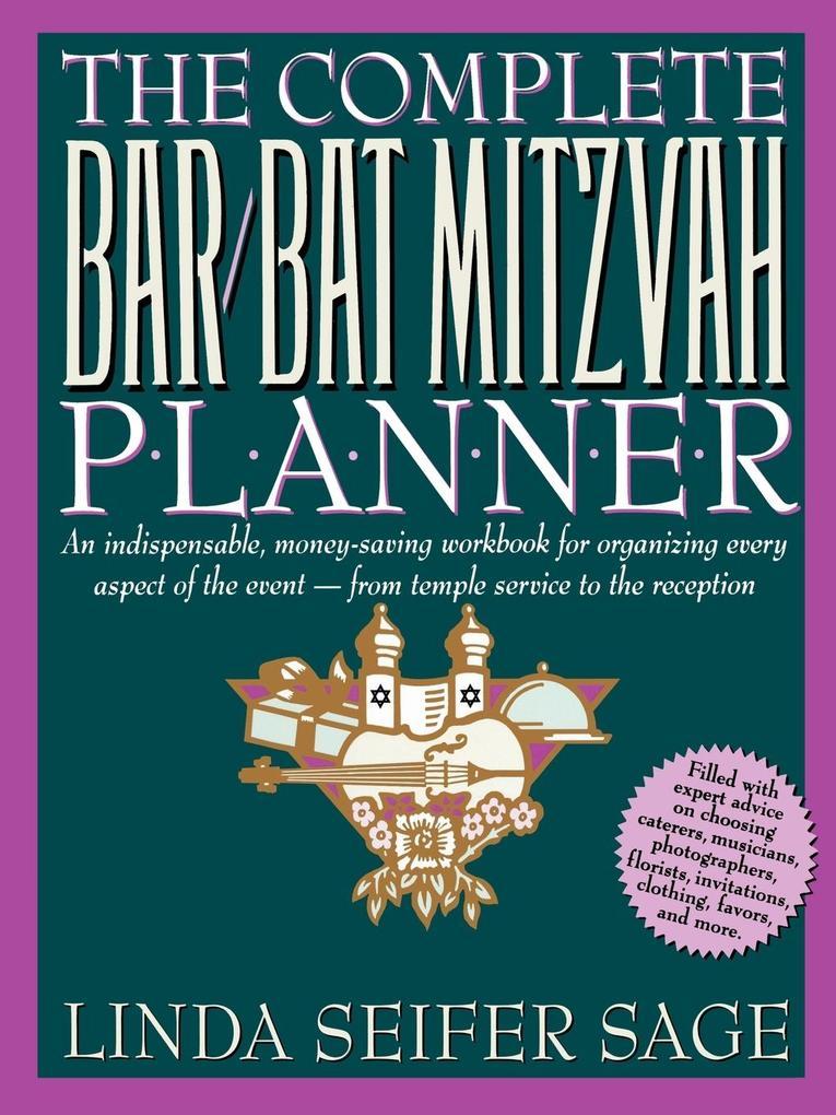 The Complete Bar/Bat Mitzvah Planner als Taschenbuch