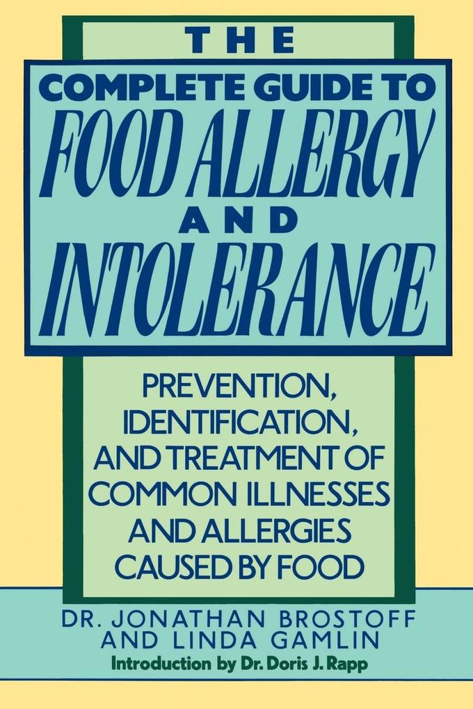 The Complete Guide to Food Allergy and Intolerance als Taschenbuch