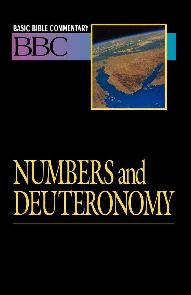 Basic Bible Commentary Numbers and Deuteronomy Volume 3 als Taschenbuch