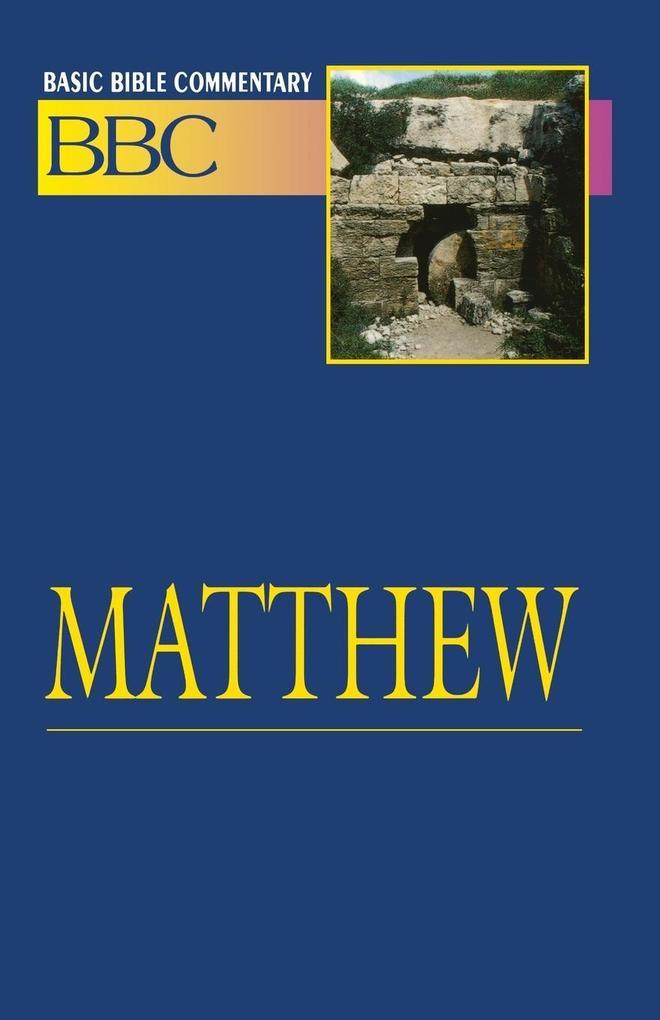 Basic Bible Commentary Matthew als Taschenbuch