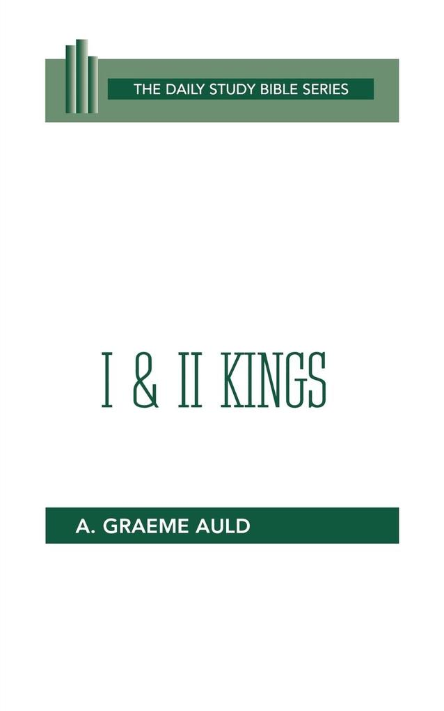 First and Second Kings als Taschenbuch