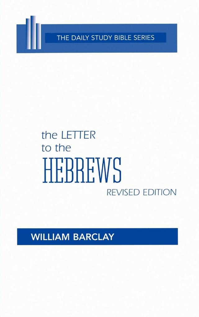 The Letter to the Hebrews als Buch
