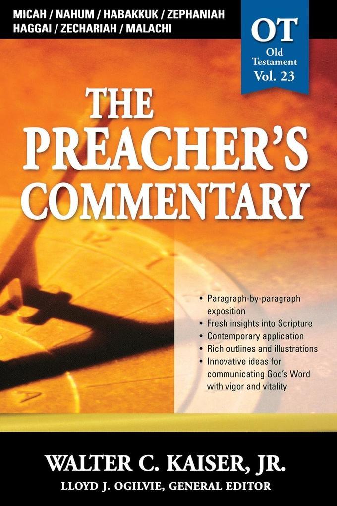 Micah, Nahum, Habakkuk, Zephaniah, Haggai, Zechariah, Malachi als Taschenbuch