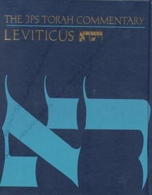 The JPS Torah Commentary: Leviticus als Buch