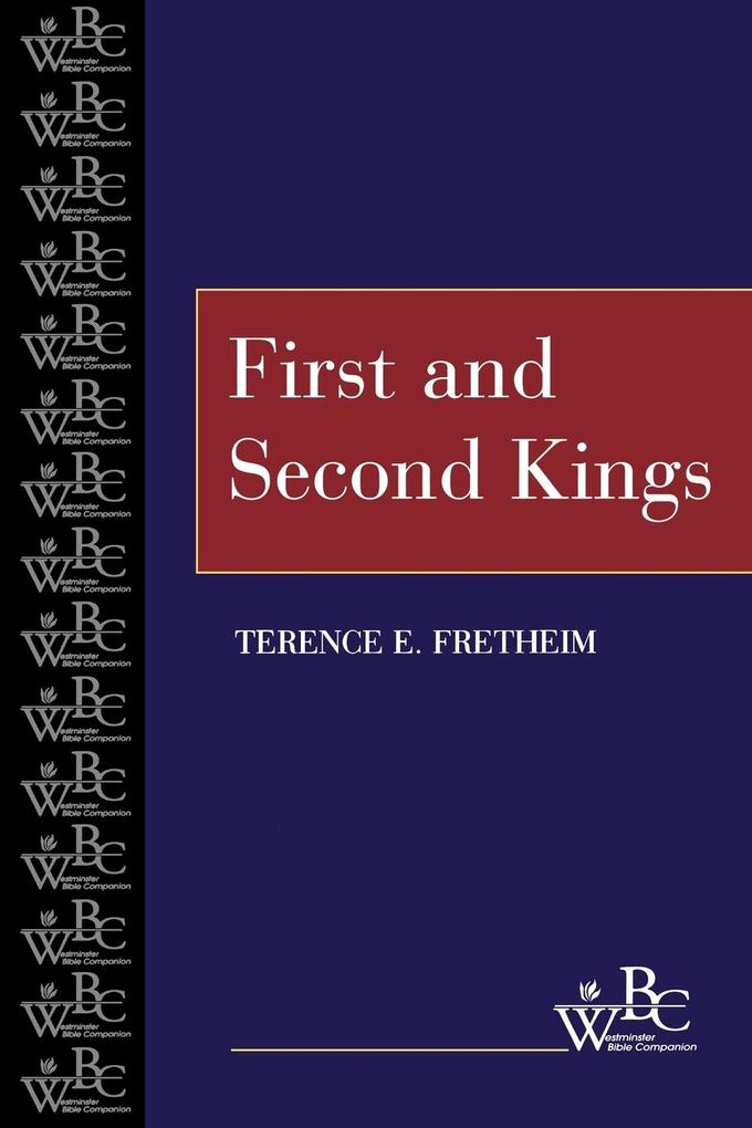First and Second Kings (WBC) als Taschenbuch