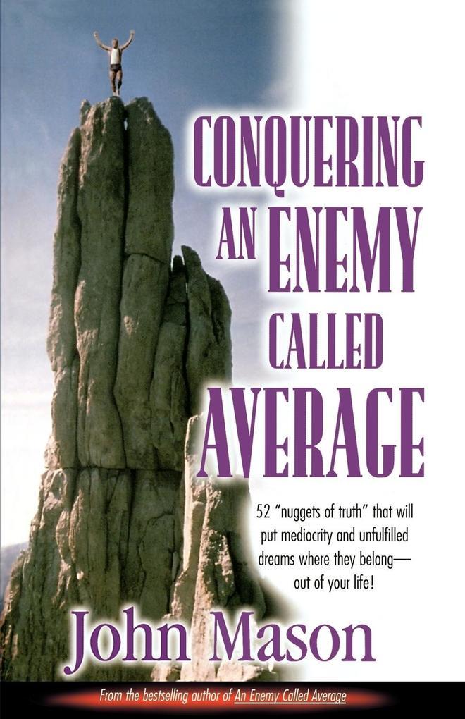 Conquering an Enemy Called Average als Taschenbuch