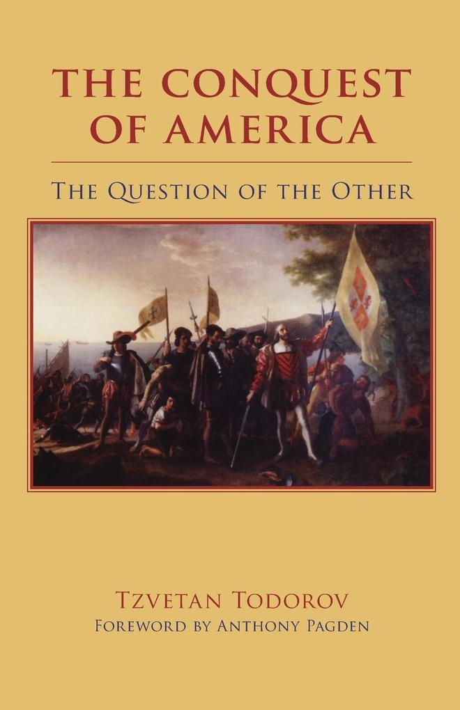 The Conquest of America: The Question of the Other als Taschenbuch