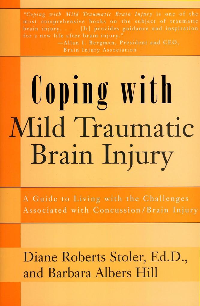 Coping with Mild Tra Br Injury als Taschenbuch
