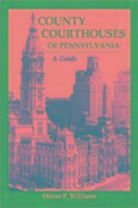 County Courthouses of Pennsylv als Taschenbuch