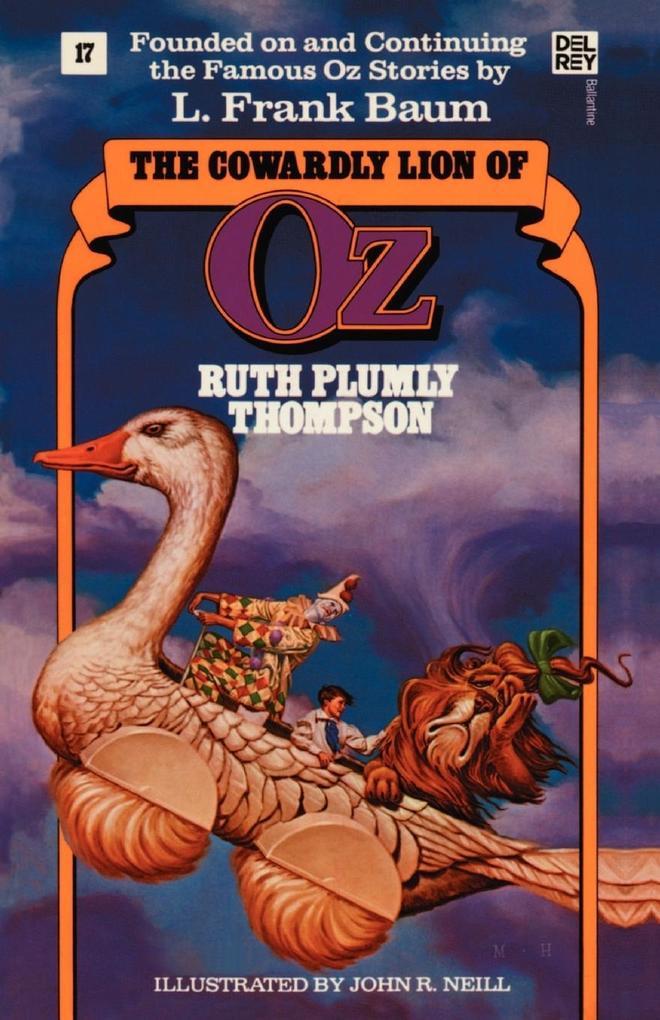 The Cowardly Lion of Oz als Taschenbuch