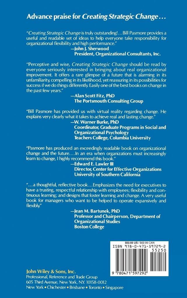Creating Strategic Change: Designing the Flexible, High-Performing Organization als Buch