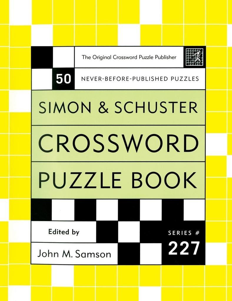 Crossword Puzzle Book, Series 227 als Taschenbuch