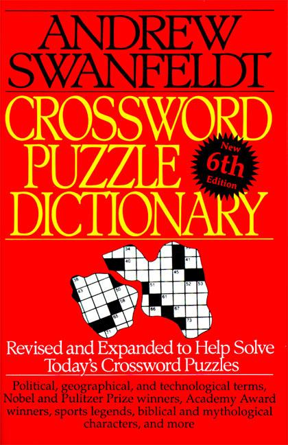 Crossword Puzzle Dictionary: Sixth Edition als Taschenbuch