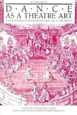 Dance as a Theatre Art als Taschenbuch