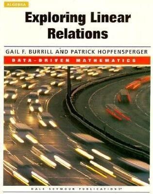 Exploring Linear Relations: Data-Driven Mathematics als Taschenbuch