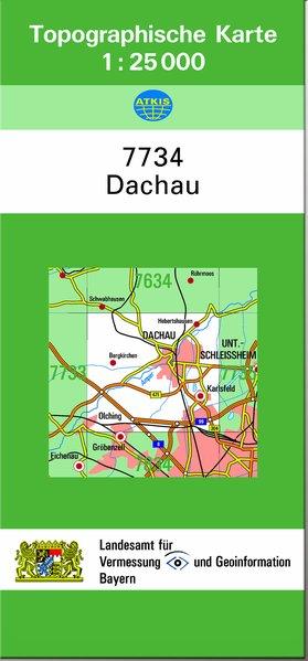Dachau 1 : 25 000 als Buch