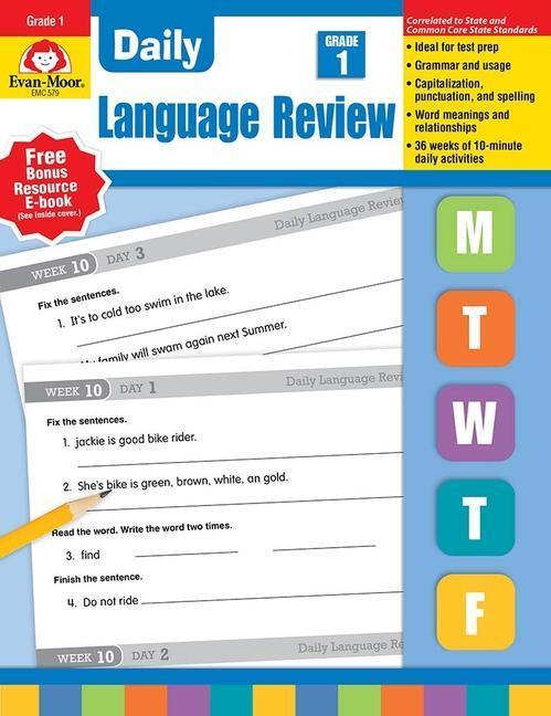 Daily Language Review, Grade 1 als Taschenbuch
