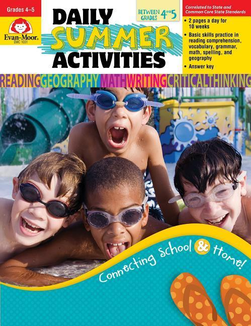 Daily Summer Activities, Moving from 4th to 5th Grade als Taschenbuch