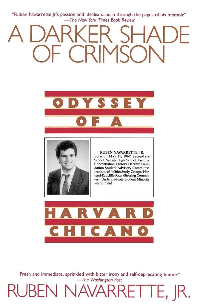 Darker Shade of Crimson: Odyssey of a Harvard Chicano als Taschenbuch