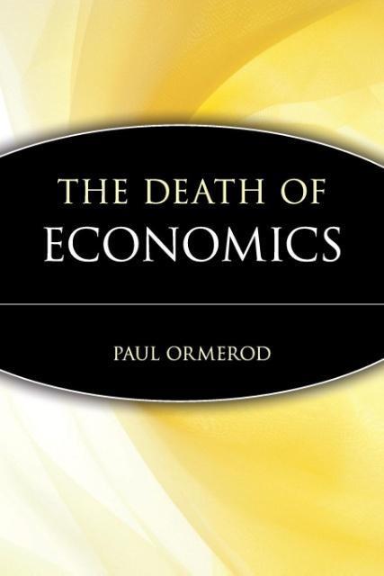 The Death of Economics als Taschenbuch