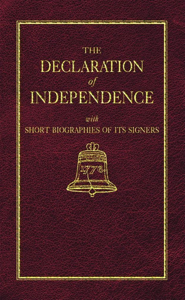 Declaration of Independence als Buch