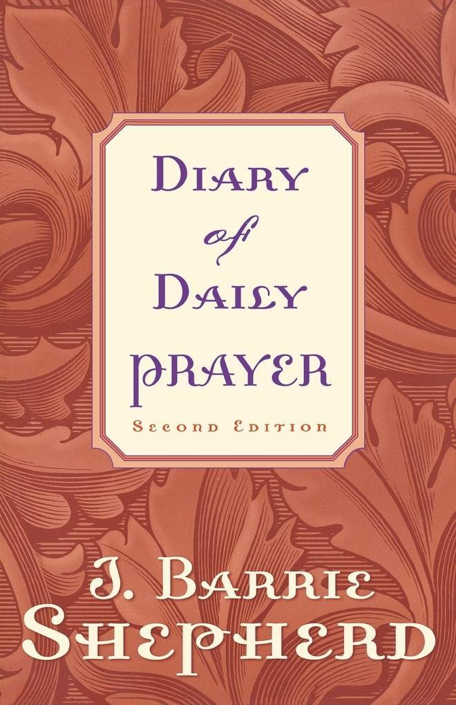 Diary of Daily Prayer als Taschenbuch