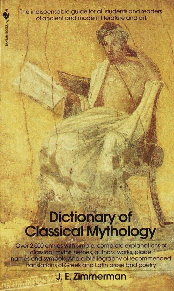 The Dictionary of Classical Mythology als Taschenbuch