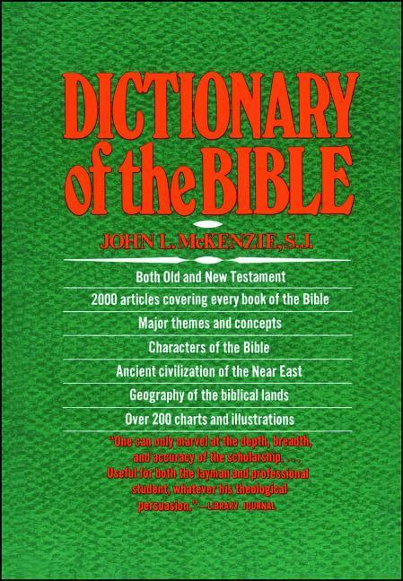 The Dictionary of the Bible als Taschenbuch