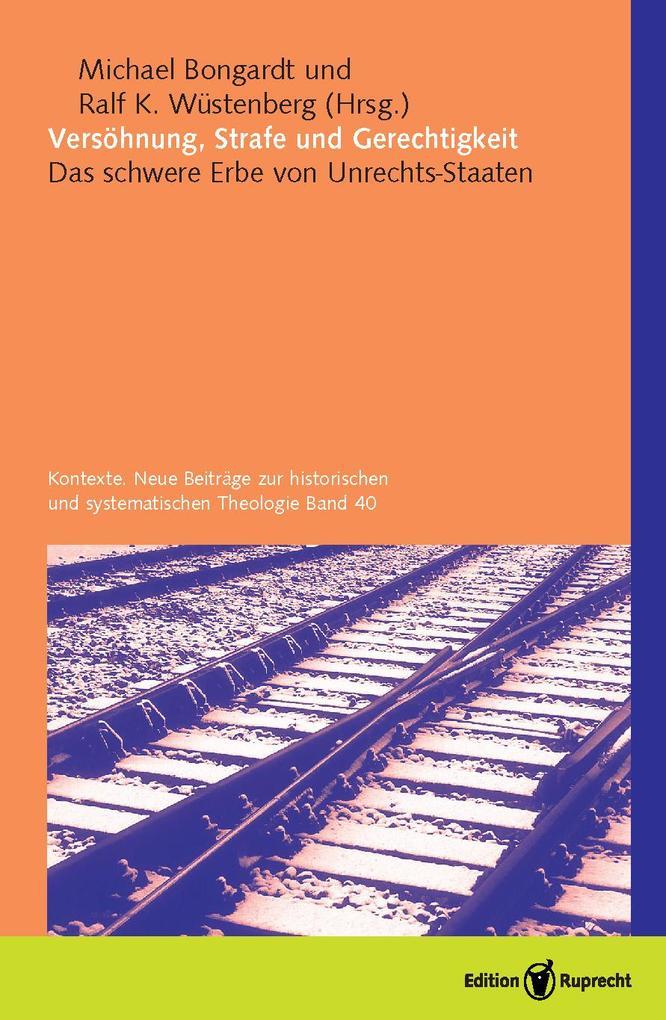 Versöhnung, Strafe und Gerechtigkeit als eBook