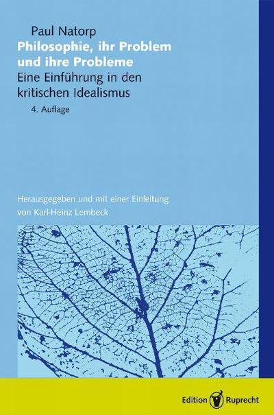Philosophie, ihr Problem und ihre Probleme als eBook