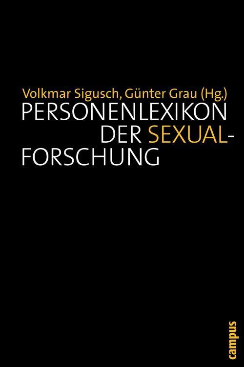 Personenlexikon der Sexualforschung als eBook